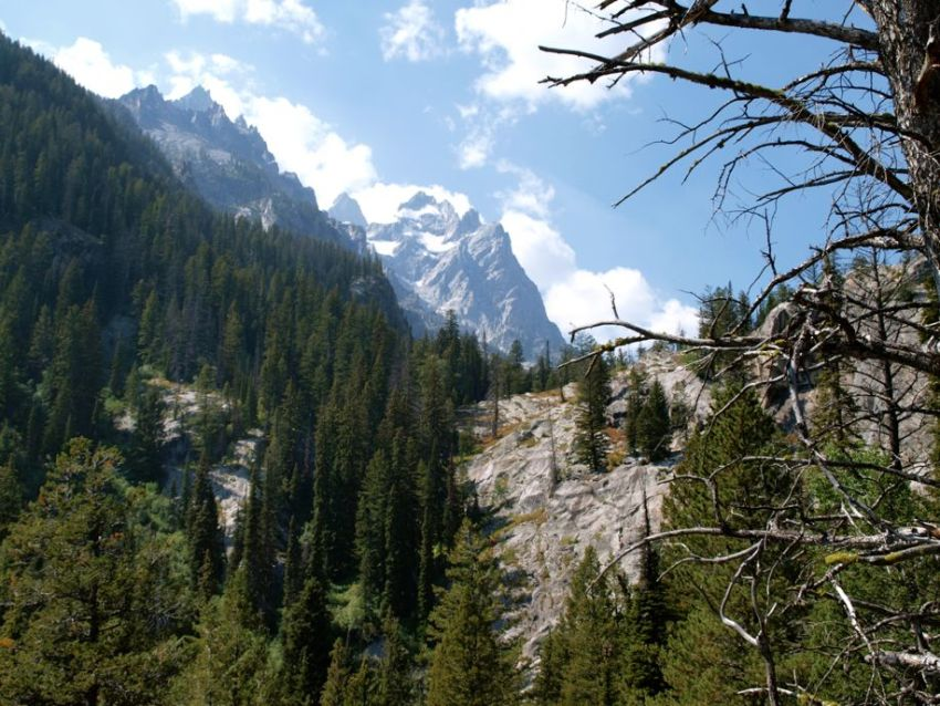 Grand Teton National Park: Inspiration Point