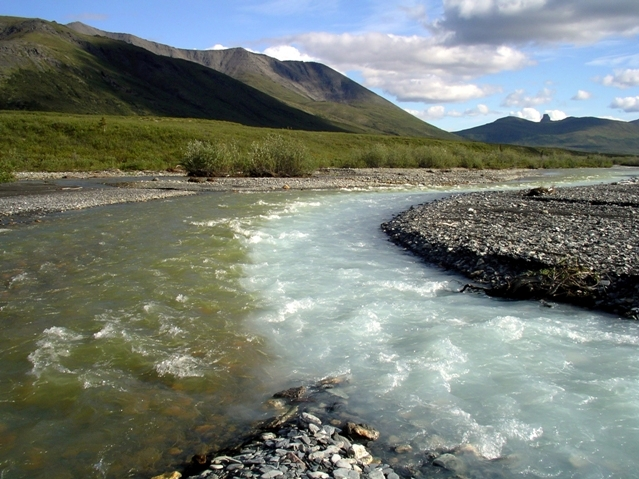 Merging Waters - photo courtesy of NPS.gov - Visiting Gates of the Arctic National Park