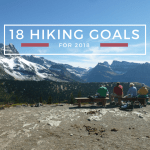 Our Hiking Goals for 2018