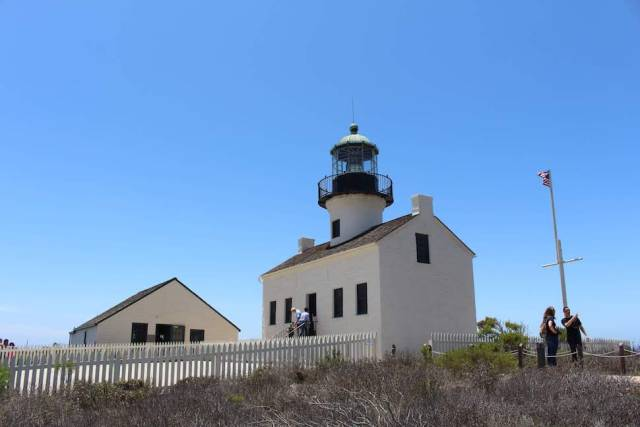The Old Point Loma Lighthouse, Cabrillo National Monument