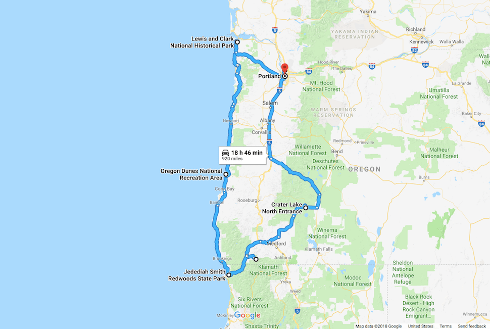 How to Plan the Ultimate Oregon National Park Road Trip