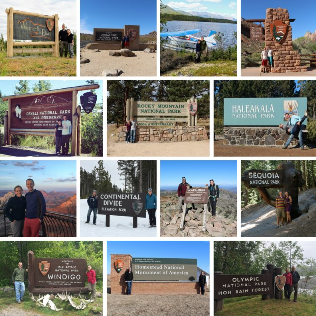 National Park Signs