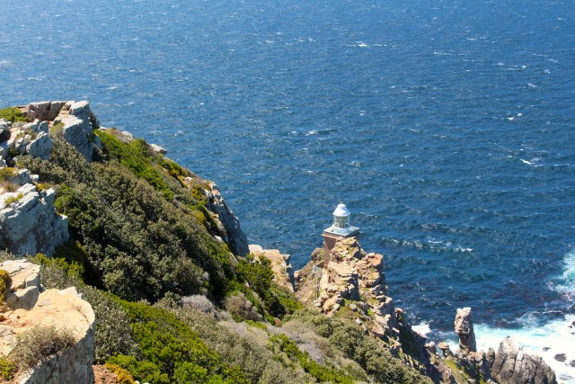 Cape Point Lighthouse view from the Trail