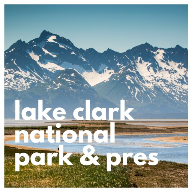 lake clark national park and preserve, the second least visited national park