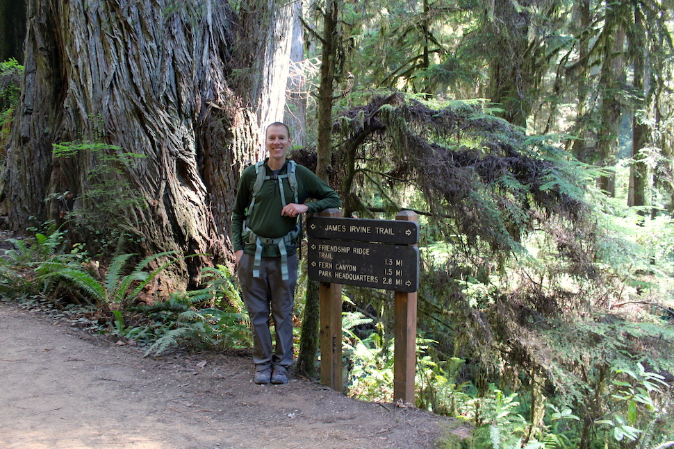 The John Irvine Trail to Fern Canyon
