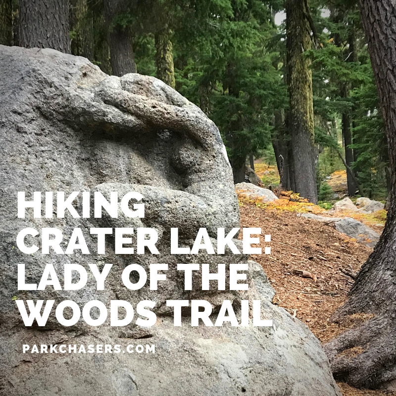 Lady of the Woods Trail in Crater Lake National Park