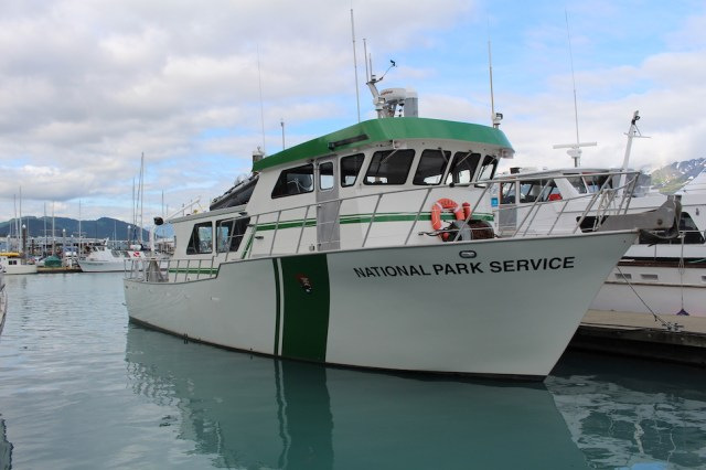 National Park Service Boat