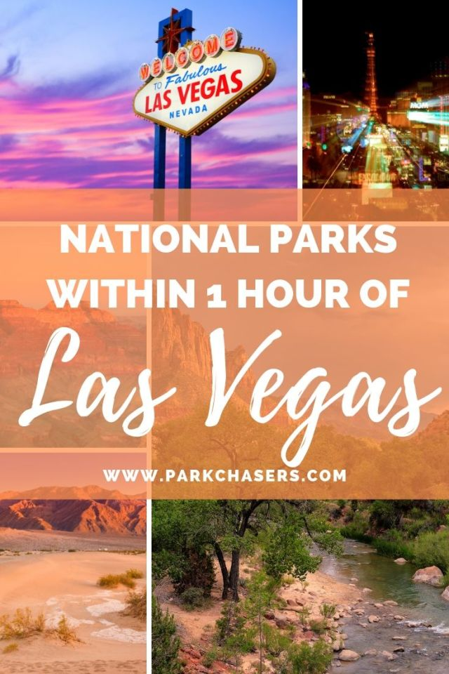 National Parks within 1 hour of vegas