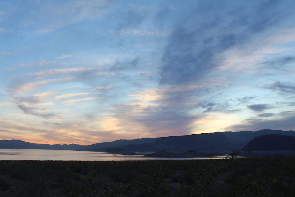 Sunset at Lake Mead NRA