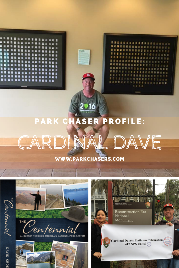 Park Chaser Profile Featuring Cardinal Dave