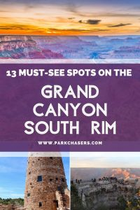 13 Must See Spots on the Grand Canyon South Rim