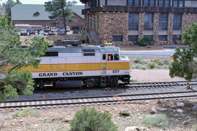 Grand Canyon Railway at the Train Depot