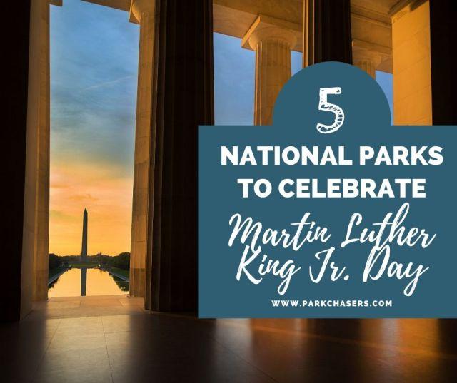 MLK national parks -Lincoln Memorial Steps