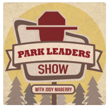Logo for Park Leaders National Park Podcast
