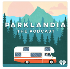 Parklandia National Parks Podcast Logo