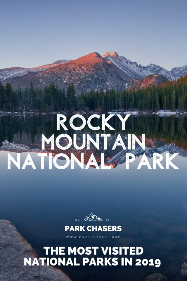 Rocky Mountain National Park - #3 most visited national park in 2019