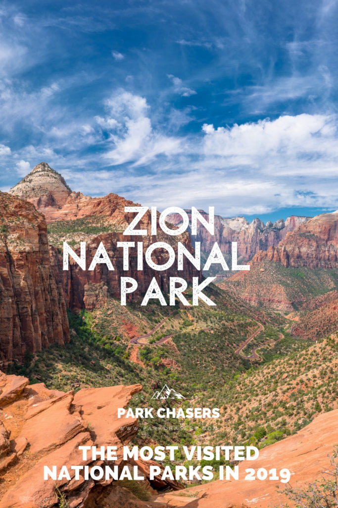 Zion National Park - #4 most visited national park in 2019