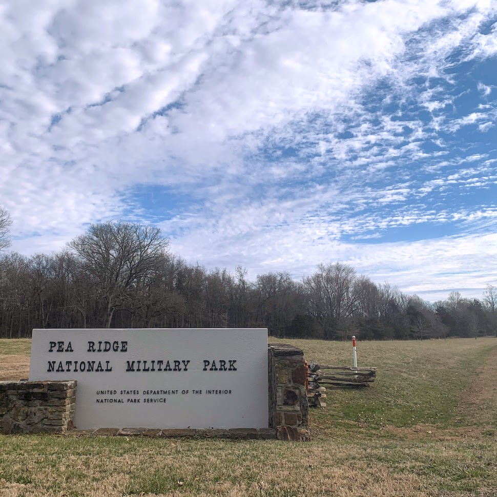 Pea Ridge Entrance Sign