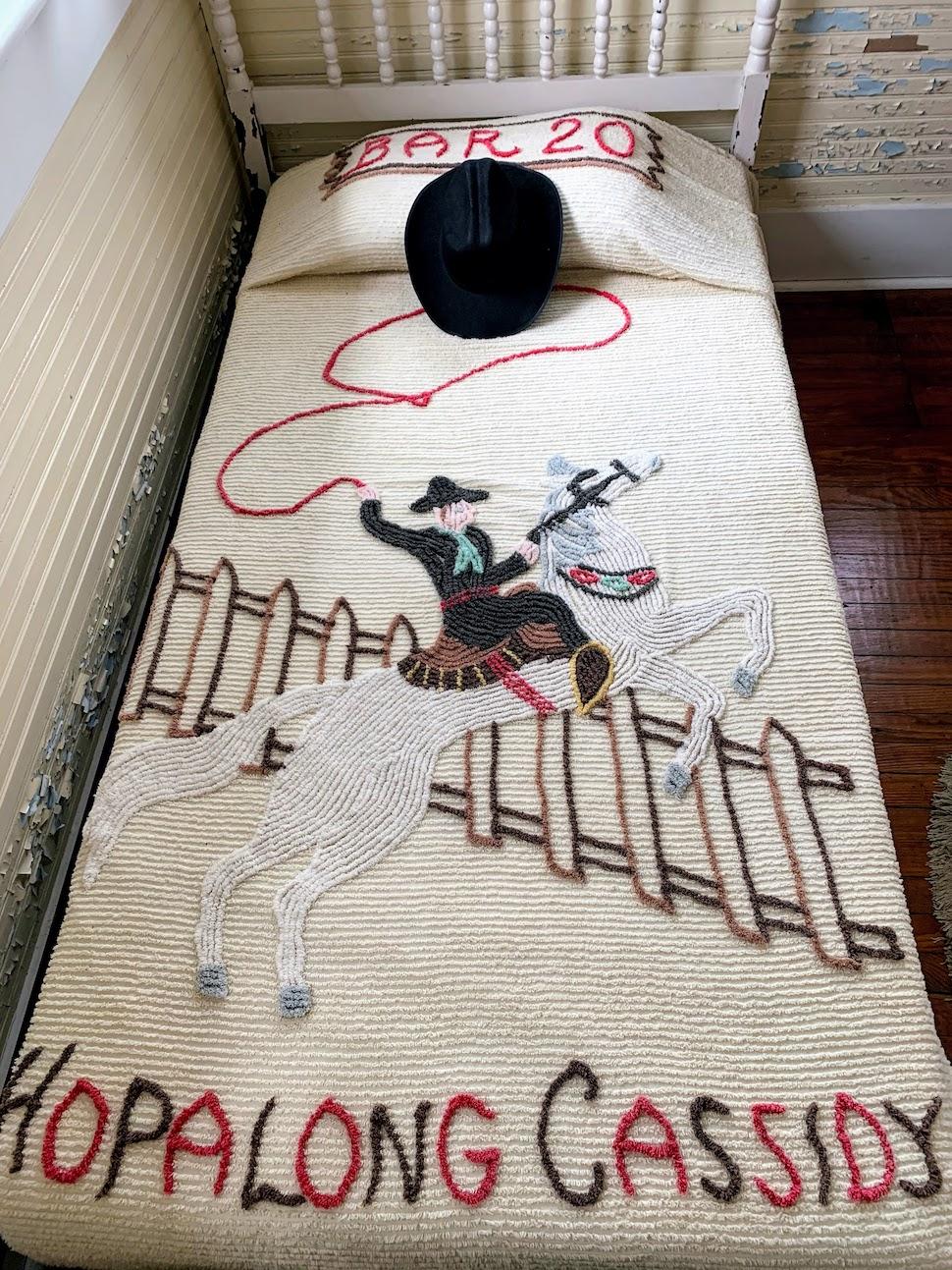 Hopalong Cassidy Bedspread