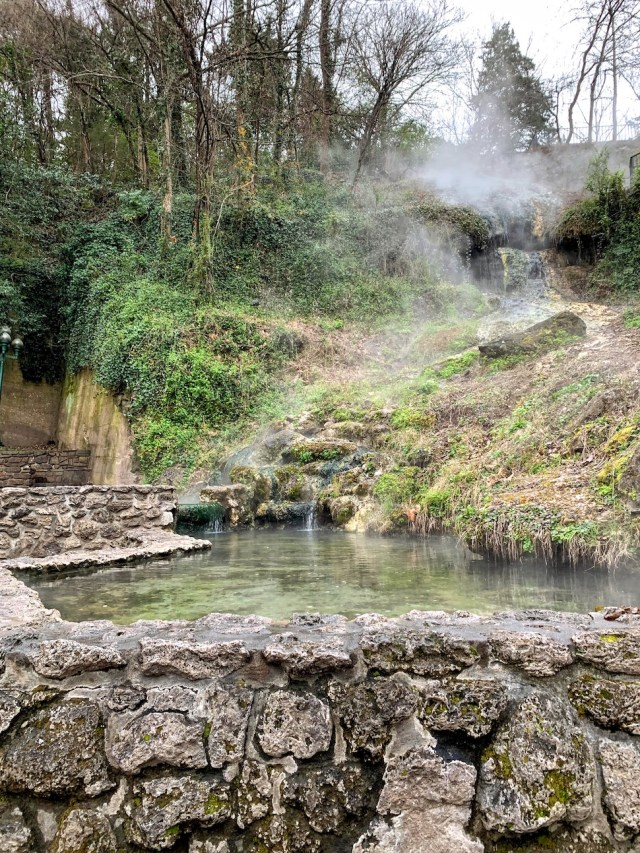 Hot Spring in Hot Springs National Park