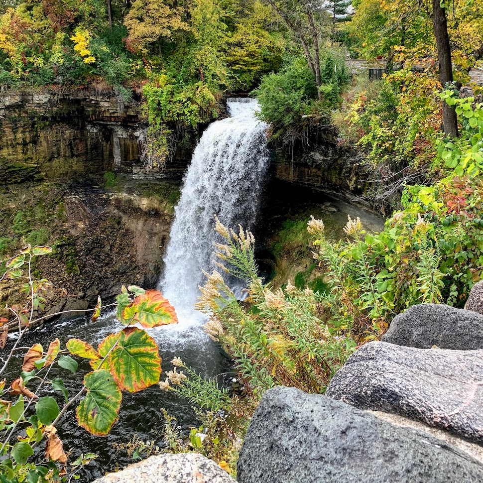 Minnehaha Falls - Mississippi National River and Recreation Area