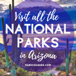 Visit all the National Parks in Arizona