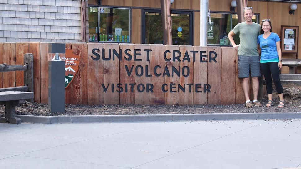 Park Chasers at Sunset Crater Volcano