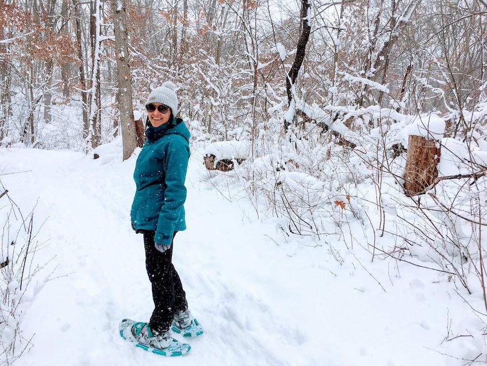 Winter Mississippi River SnowshoeingJPG