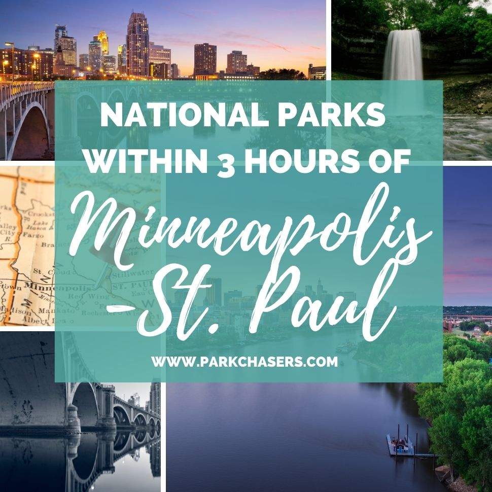 National Parks within 3 hours of Minneapolis