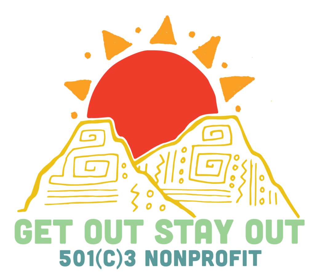 Get Out Stay Out Logo