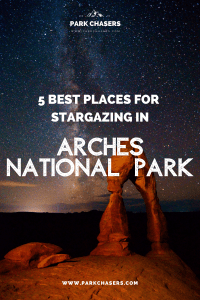Best Stargazing in Arches National Park