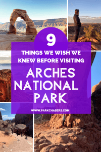 9 Things We Wish We Knew Before Visiting Arches National Park