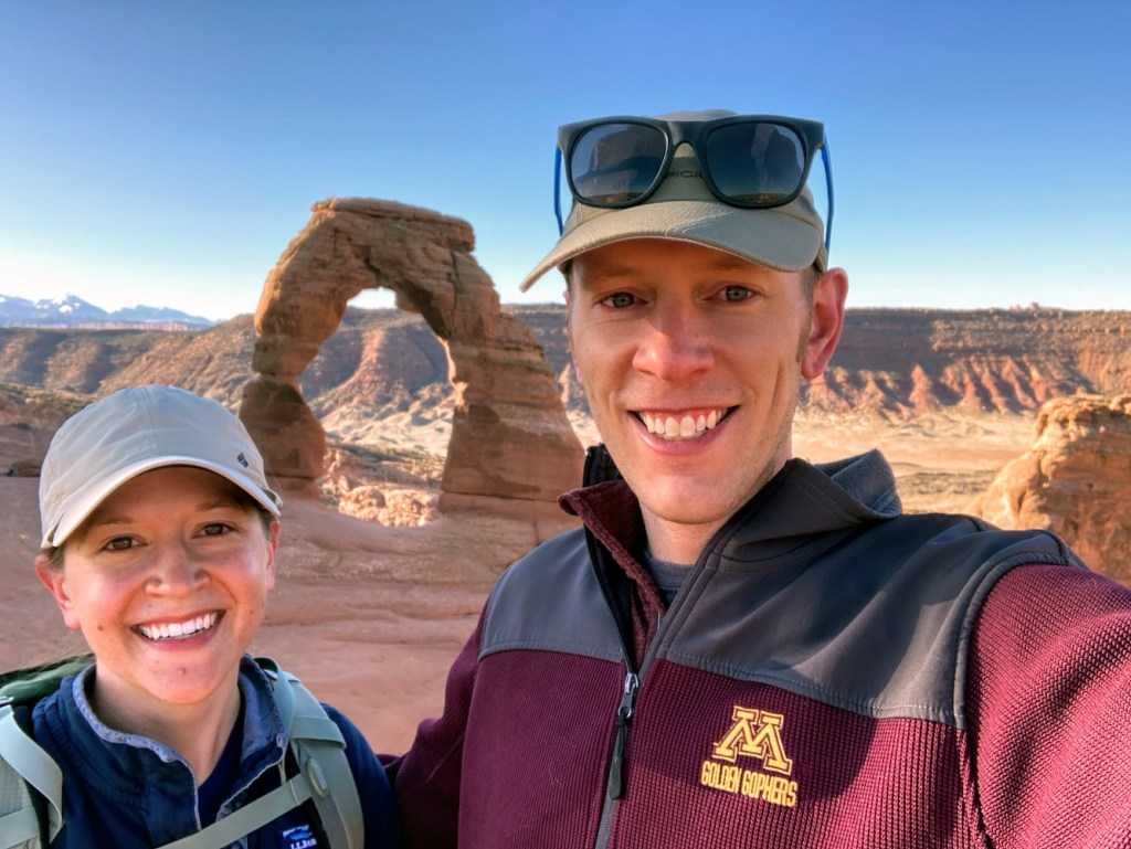 Park Chasers at Delicate Arch