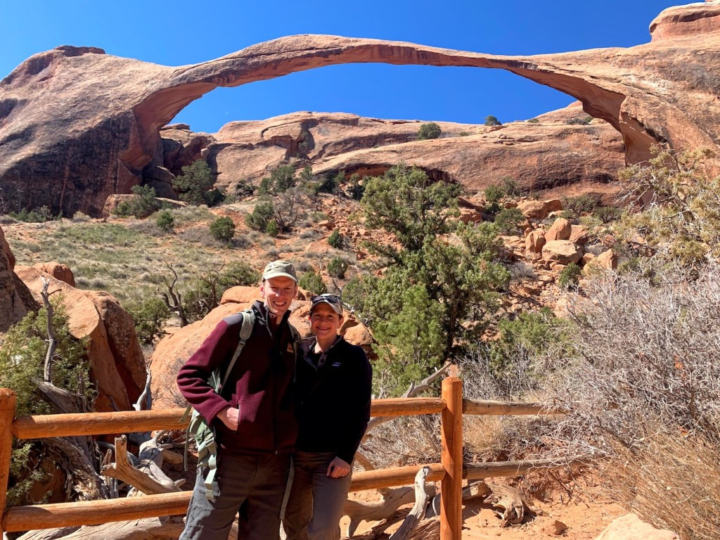 Park Chasers at Landscape Arch