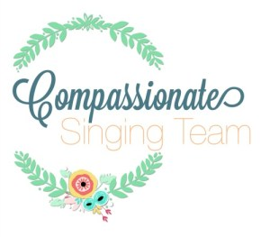 Compassionate singing team logo
