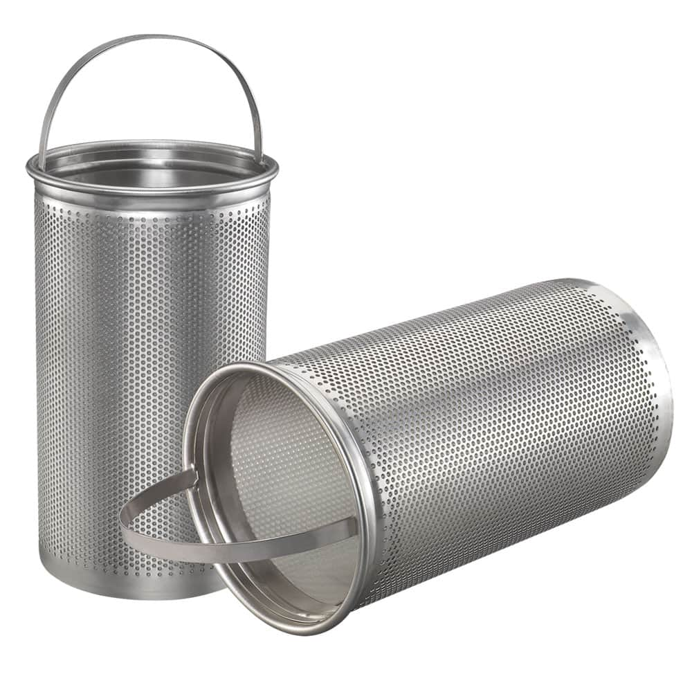 Fulflo Basket Strainers 316 Stainless Steel Mesh Filters For