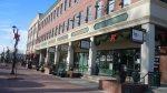 Restaurants along mainstreet in Parker CO