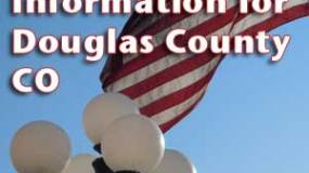 election information for douglas county colorado flag parker lights
