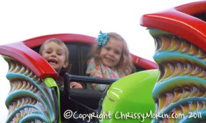 Happy Kids at Parker Days Carnival Town of Parker Co