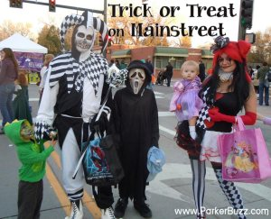 trick or treat on mainstreet parker co