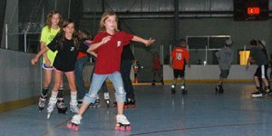 roller skating at the fieldhouse parker co