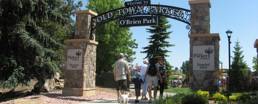 Welcome to Parker Colorado Founded 1864 Obrien Park
