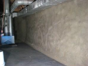 Foundation after reinforcement