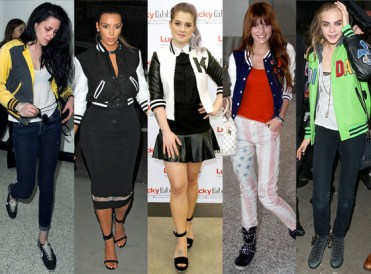 Other Diva's to rock the Varsity Look!