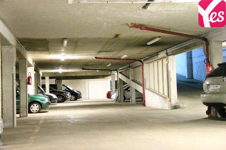 location parking hotel