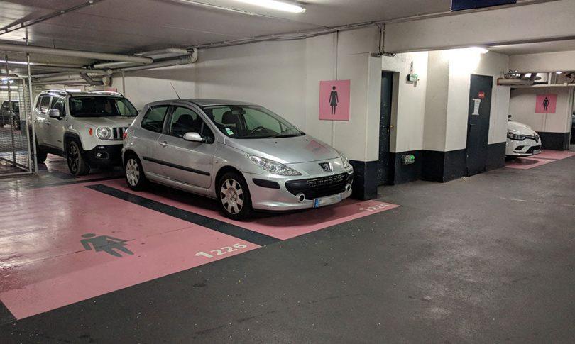 place parking femme allemagne