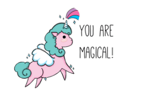 Hello.  Do you believe in unicorns?