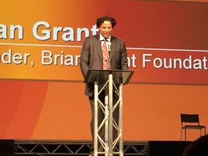 Brian Grant at Opening Ceremony