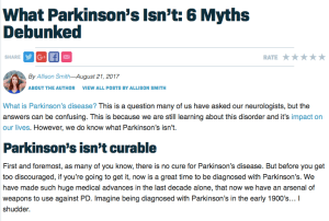 What Parkinson's Isn't: 6 Myths Debunked