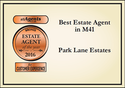 Park Lane All Agent Award